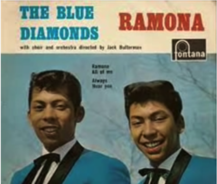 The Blue Diamonds - Ramona